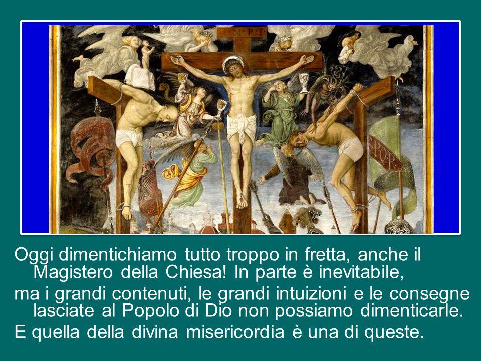 Oggi dimentichiamo tutto troppo in fretta, anche il Magistero della Chiesa.