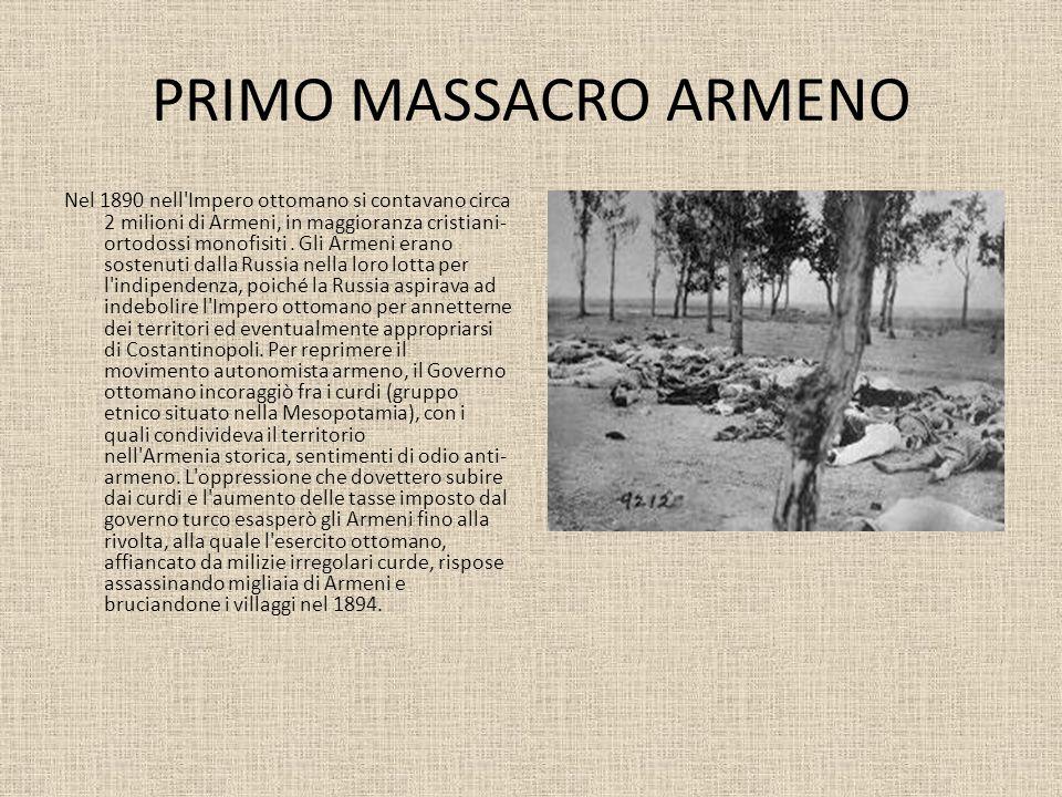 PRIMO MASSACRO ARMENO