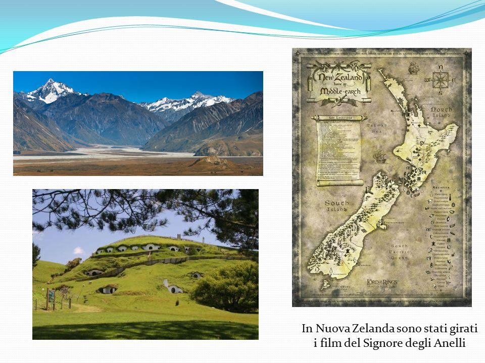 In Nuova Zelanda sono stati girati i film del Signore degli Anelli
