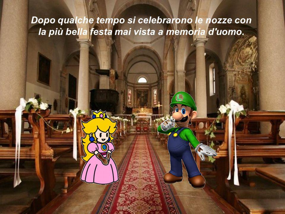 Dopo qualche tempo si celebrarono le nozze con la più bella festa mai vista a memoria d uomo.