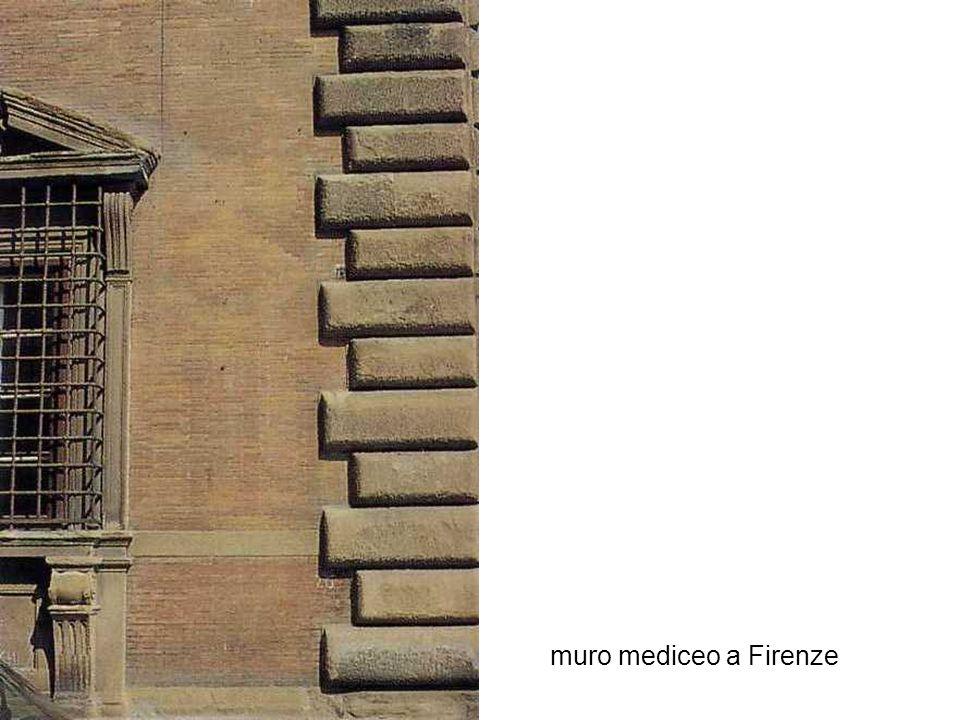 muro mediceo a Firenze