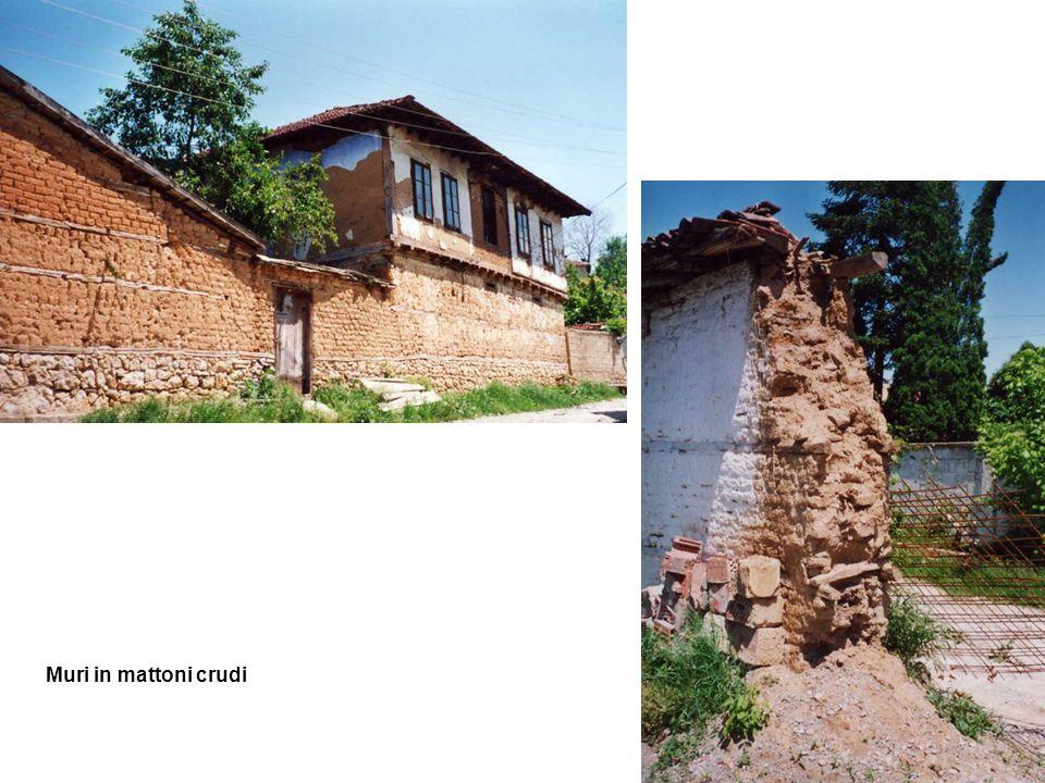 Muri in mattoni crudi