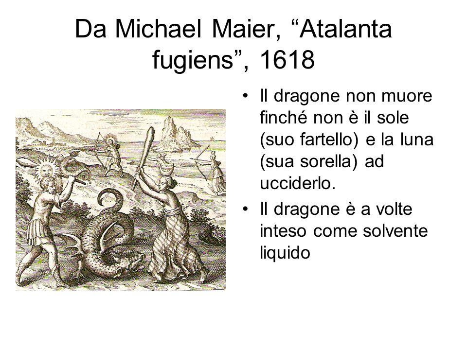 Da Michael Maier, Atalanta fugiens , 1618