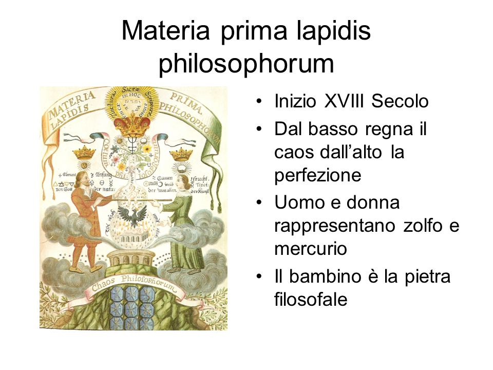 Materia prima lapidis philosophorum