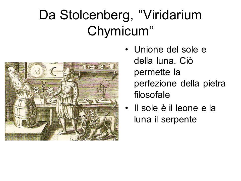 Da Stolcenberg, Viridarium Chymicum
