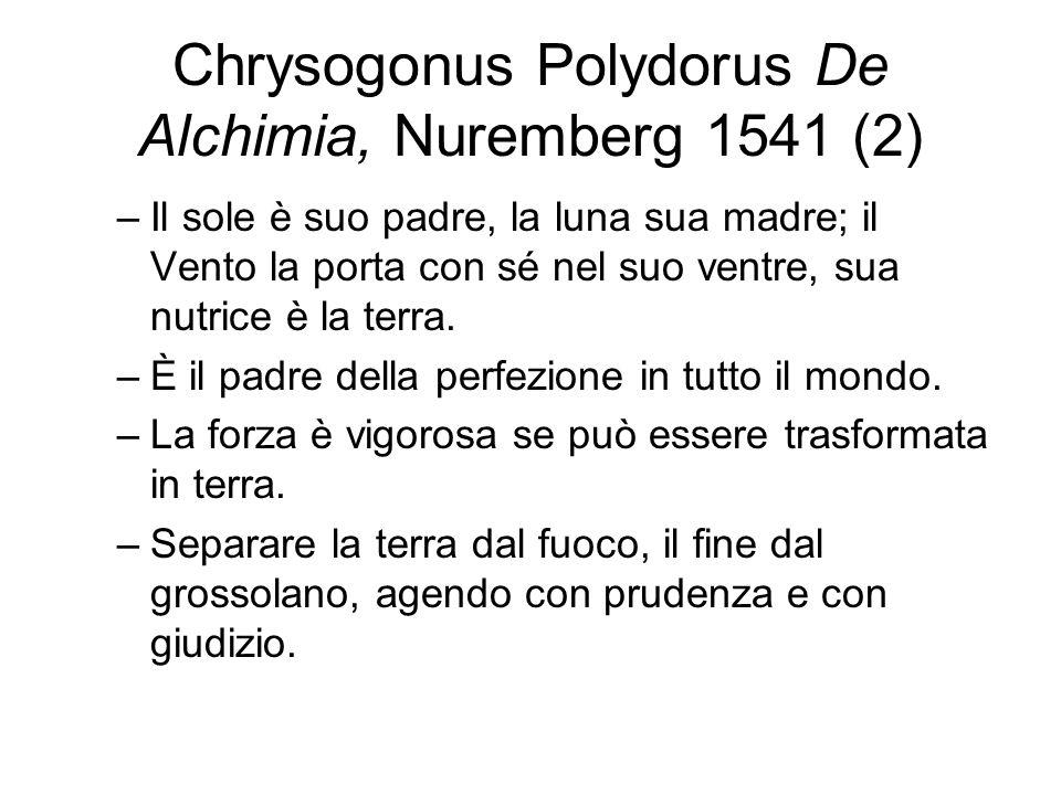 Chrysogonus Polydorus De Alchimia, Nuremberg 1541 (2)