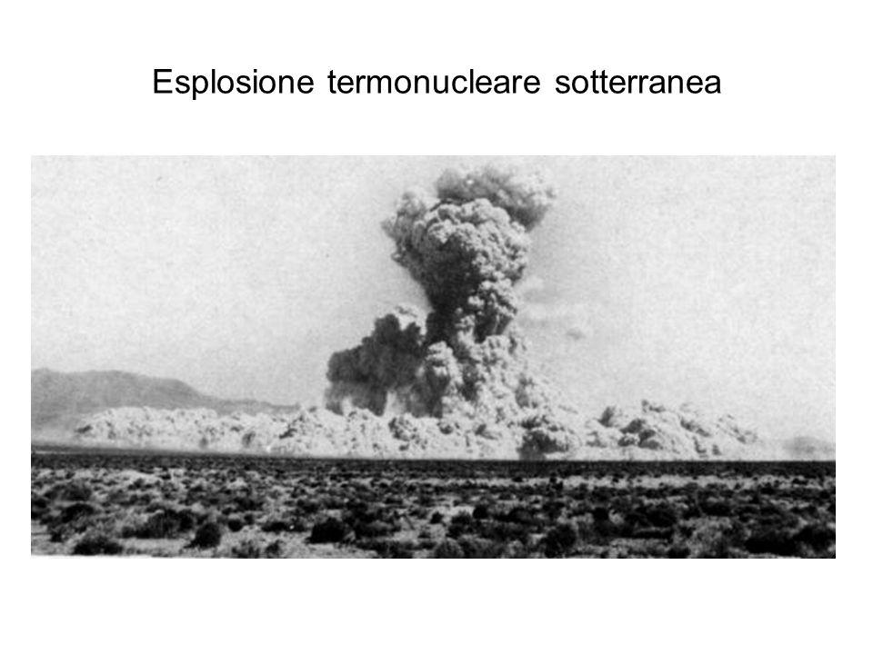Esplosione termonucleare sotterranea