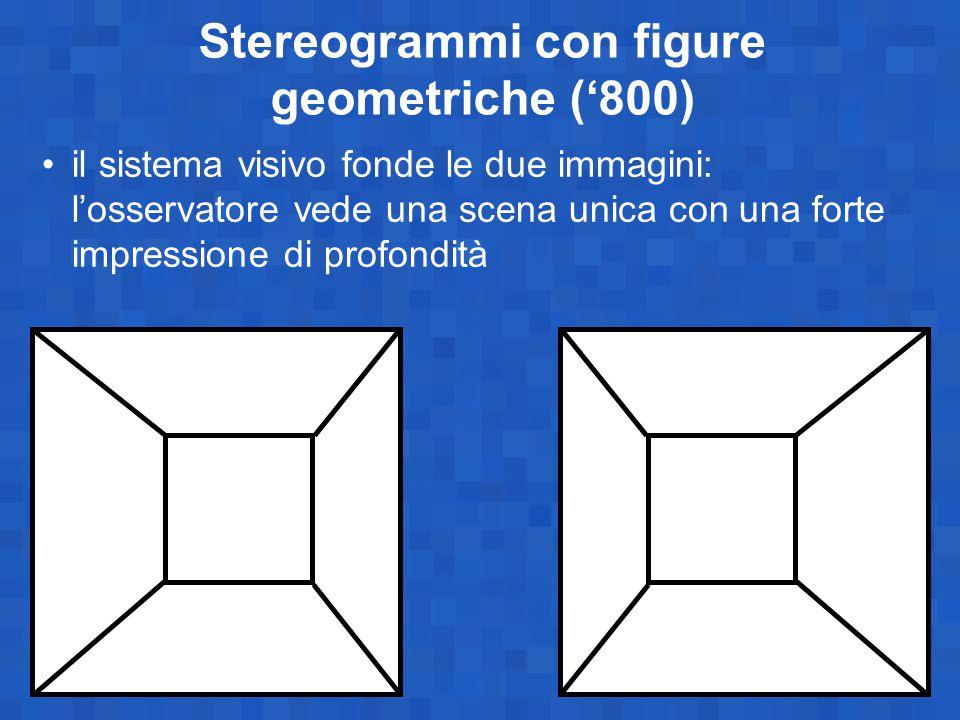 Stereogrammi con figure geometriche ('800)
