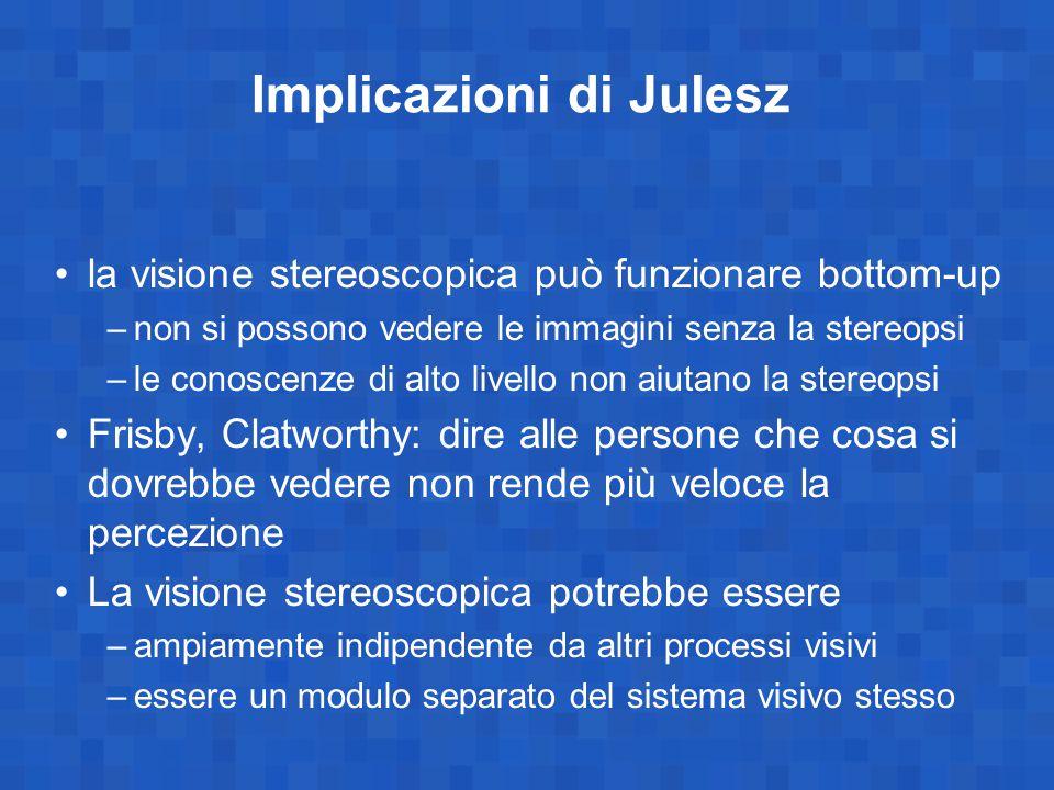 Implicazioni di Julesz