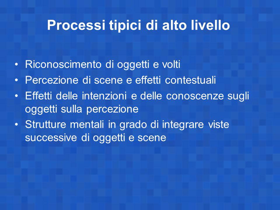 Processi tipici di alto livello