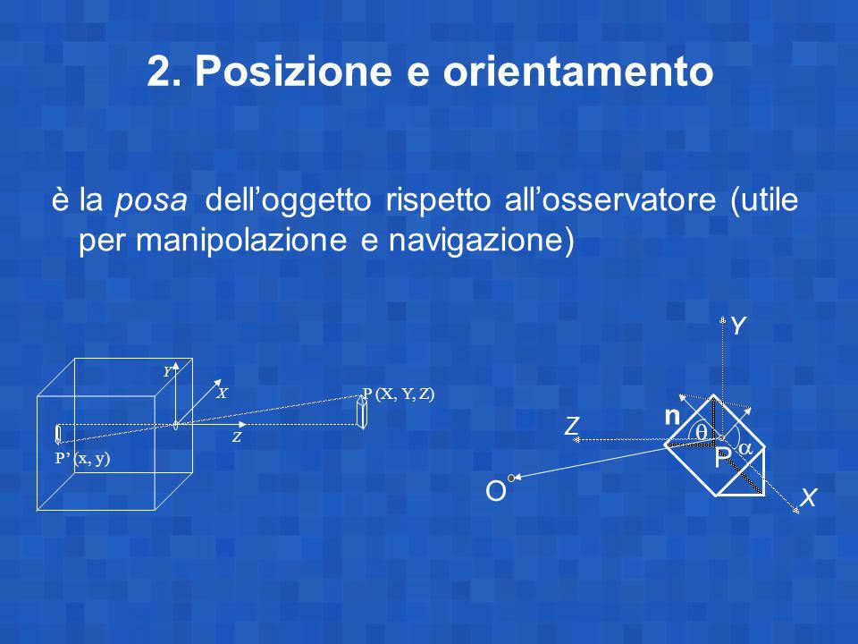 2. Posizione e orientamento