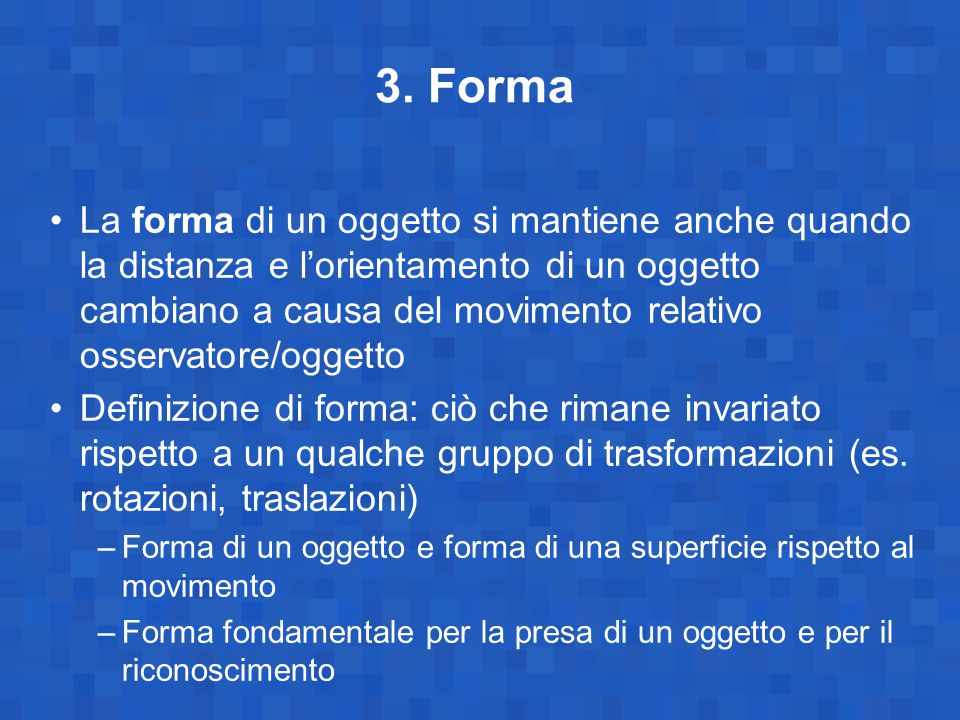 3. Forma