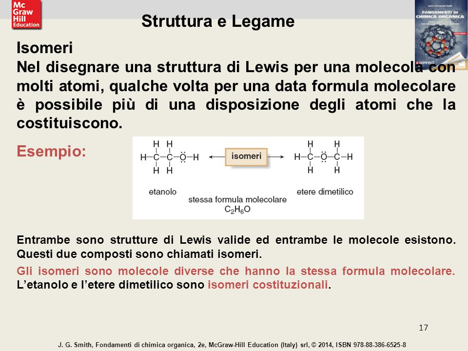 Struttura e Legame Isomeri