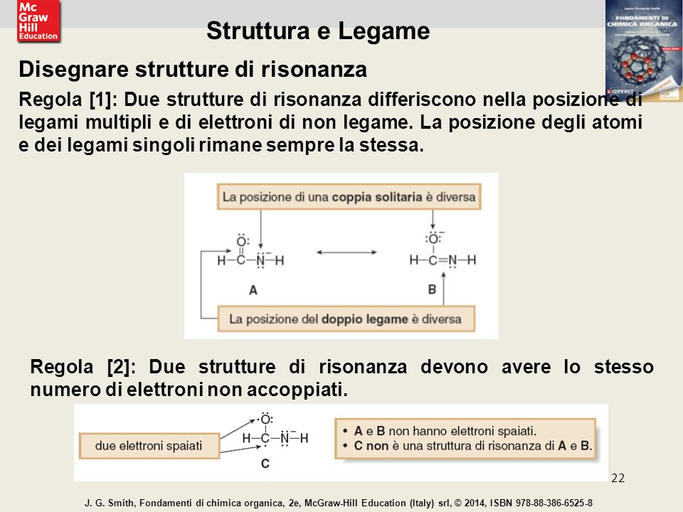Struttura e Legame Disegnare strutture di risonanza