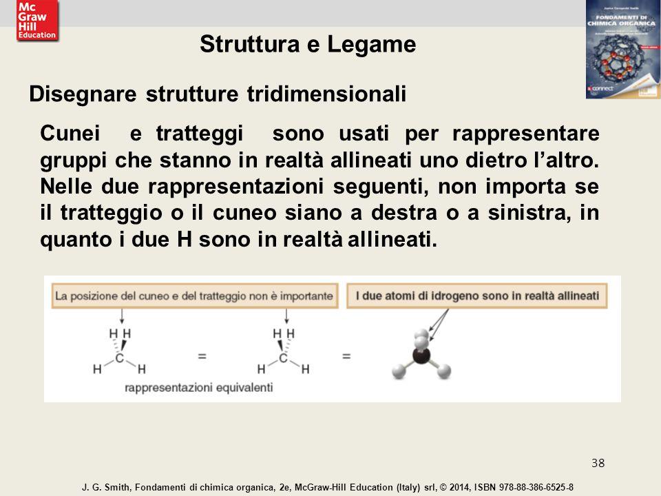 Struttura e Legame Disegnare strutture tridimensionali