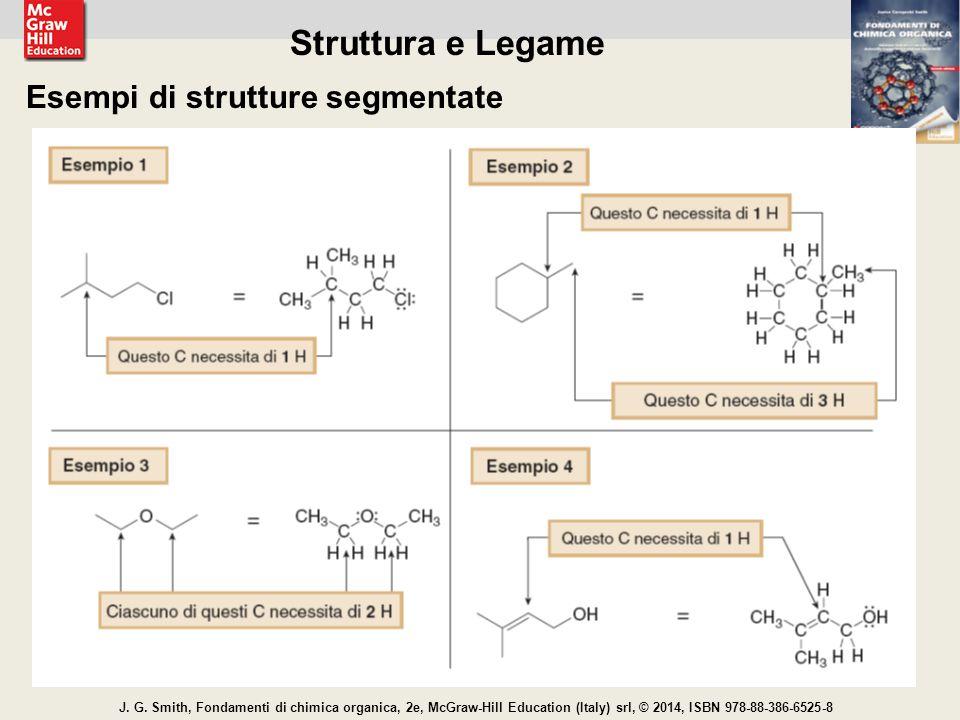 Struttura e Legame Esempi di strutture segmentate