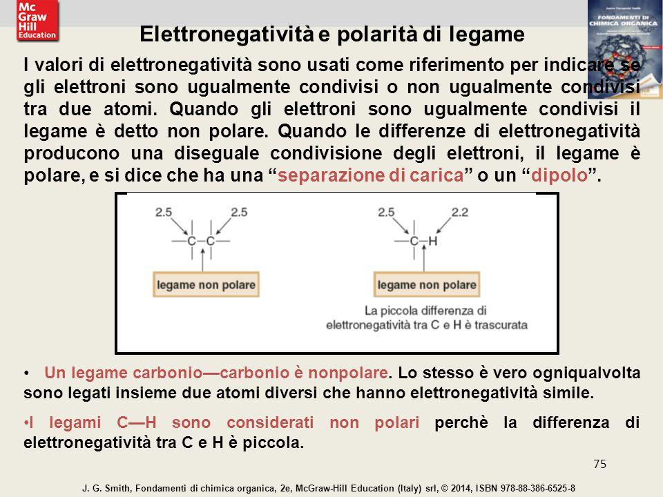 Elettronegatività e polarità di legame