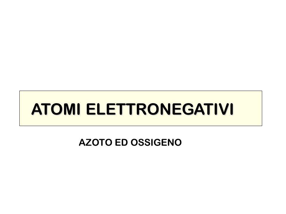 ATOMI ELETTRONEGATIVI