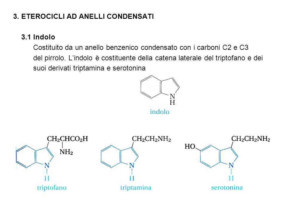 3. ETEROCICLI AD ANELLI CONDENSATI
