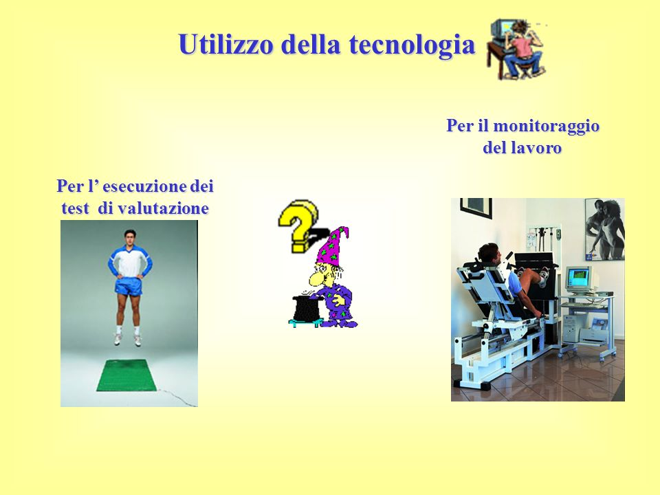 Utilizzo della tecnologia