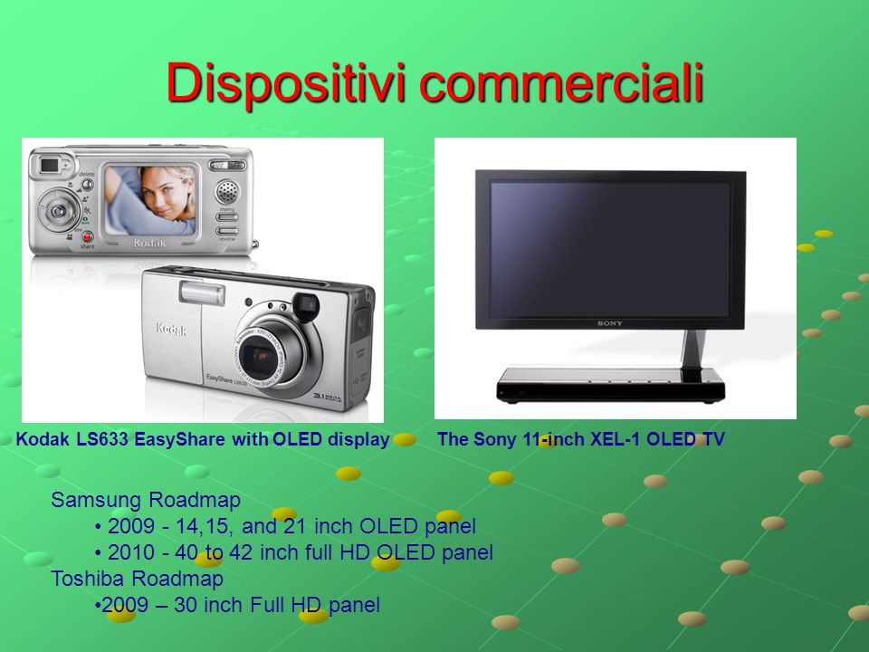 Dispositivi commerciali