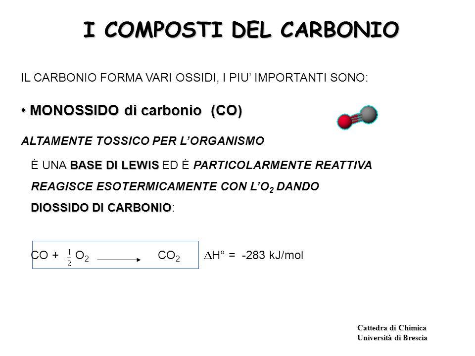 I COMPOSTI DEL CARBONIO