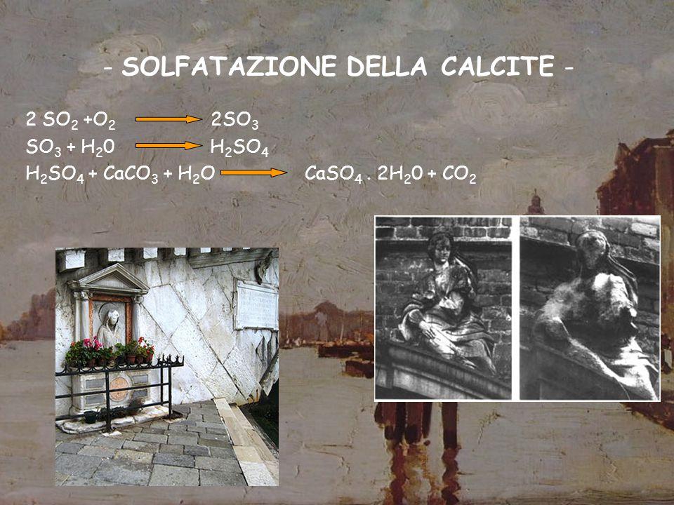 - SOLFATAZIONE DELLA CALCITE -