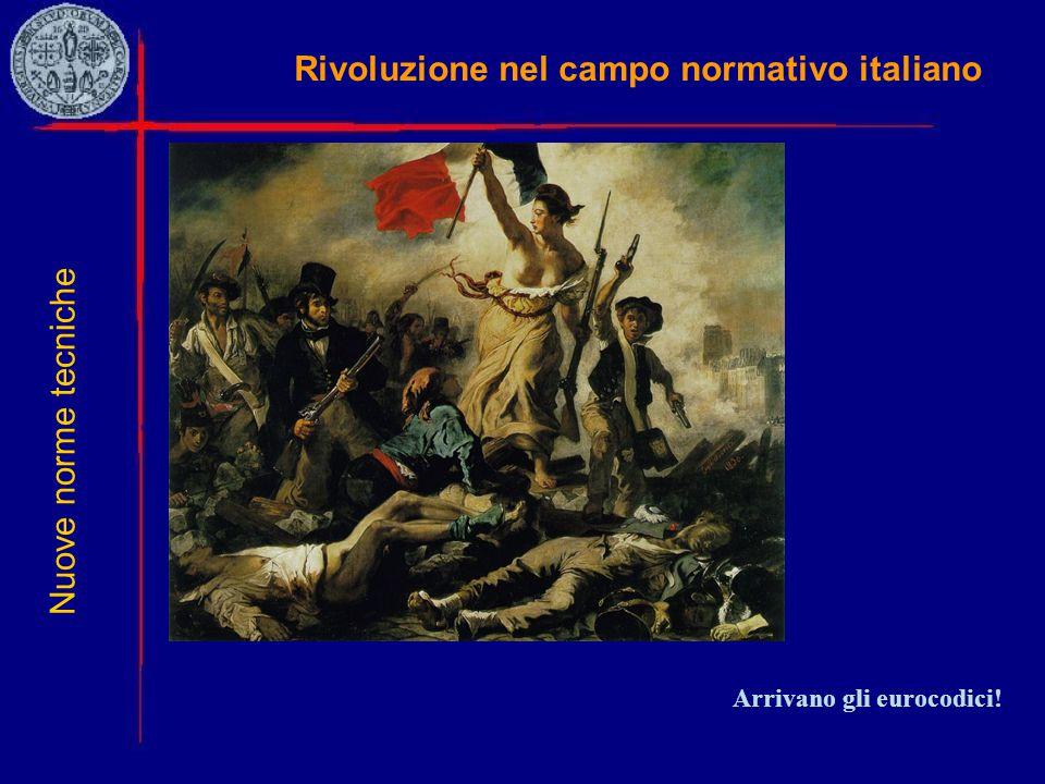 Rivoluzione nel campo normativo italiano