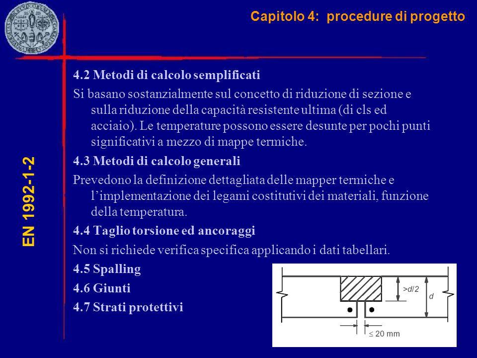 Capitolo 4: procedure di progetto