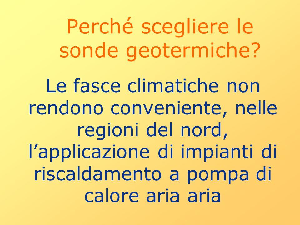Perché scegliere le sonde geotermiche