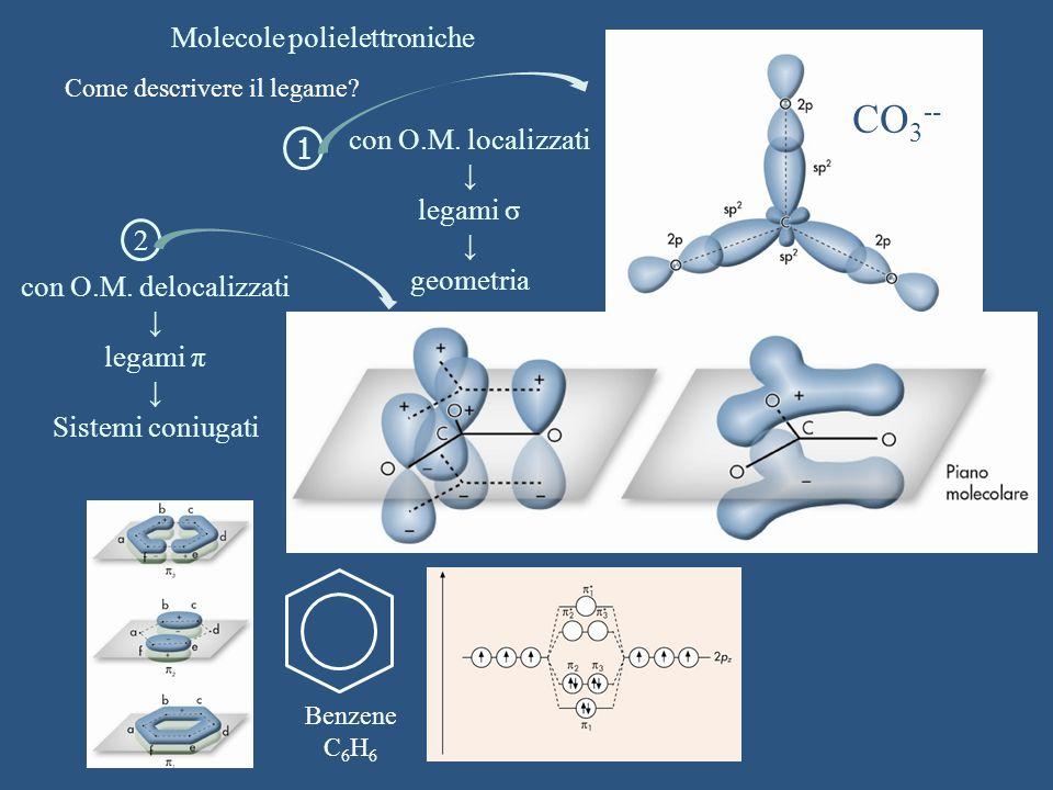 Molecole polielettroniche