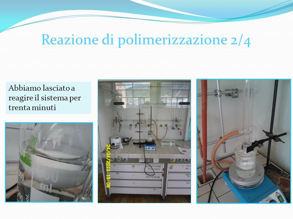 Reazione di polimerizzazione 2/4