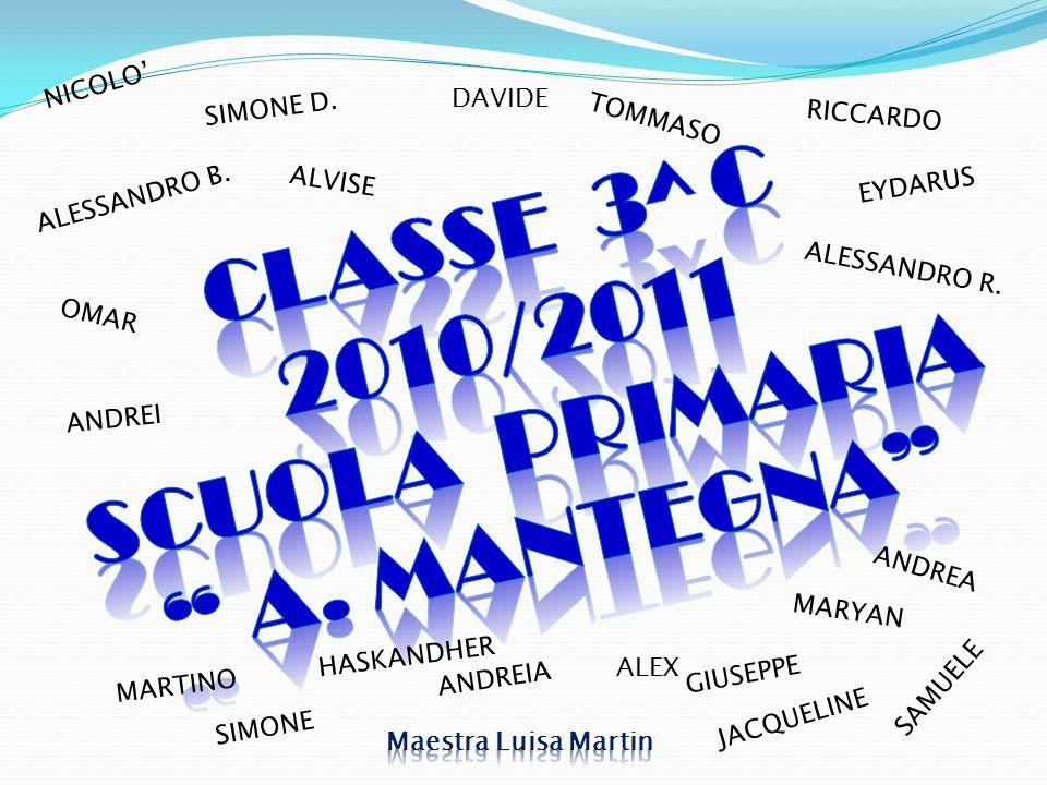 CLASSE 3^ C 2010/2011 SCUOLA PRIMARIA A. MANTEGNA