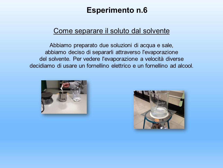 Esperimento n.6