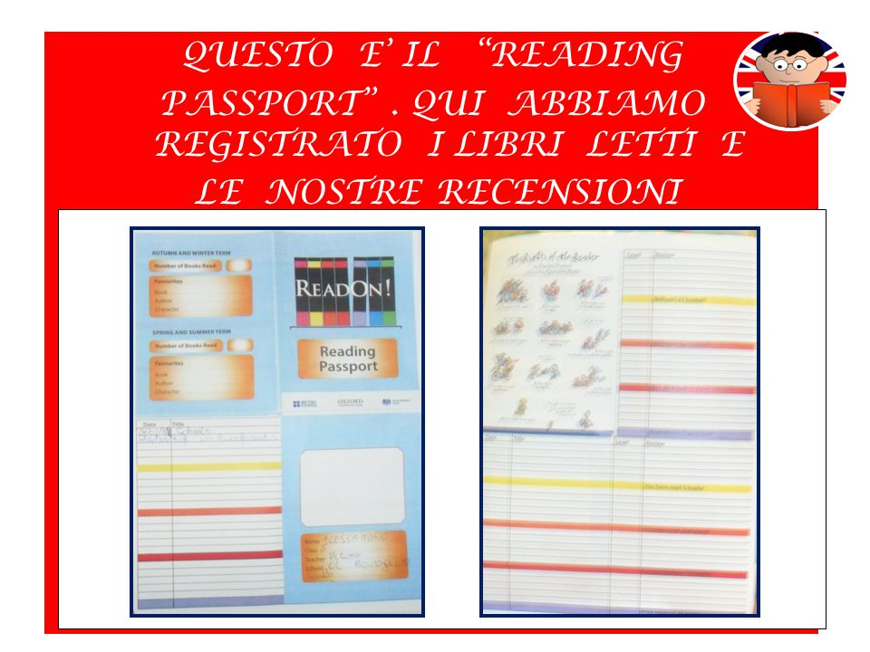 QUESTO E' IL READING PASSPORT