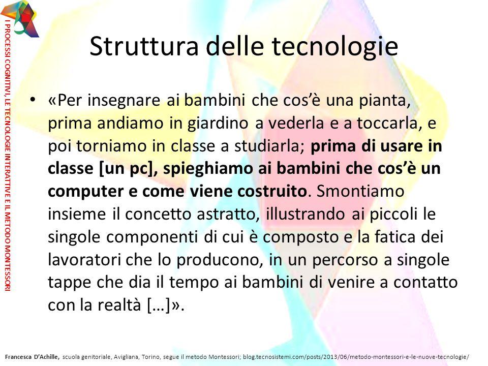 Struttura delle tecnologie