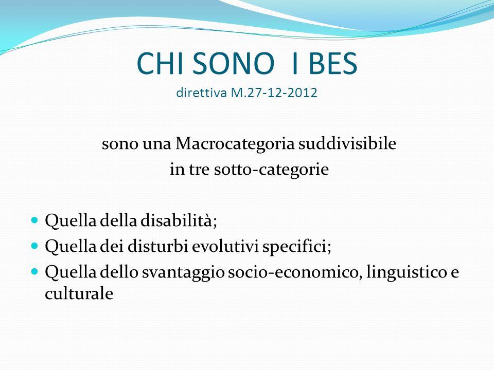 CHI SONO I BES direttiva M.27-12-2012