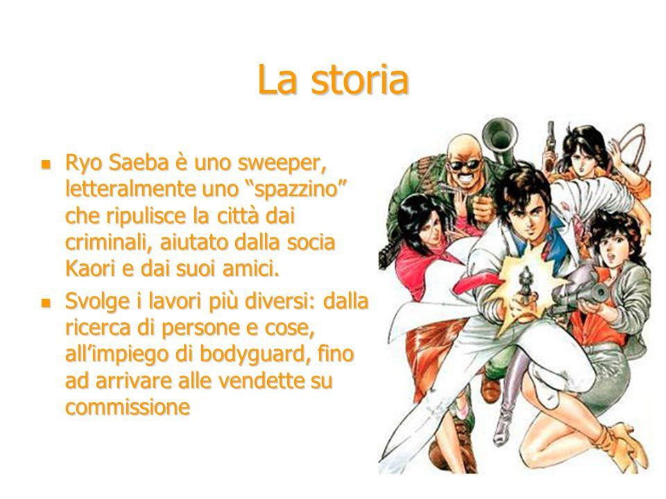 La storia Ryo Saeba è uno sweeper, letteralmente uno spazzino che ripulisce la città dai criminali, aiutato dalla socia Kaori e dai suoi amici.