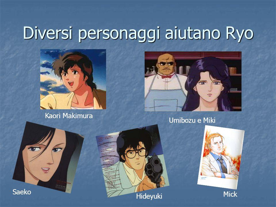 Diversi personaggi aiutano Ryo
