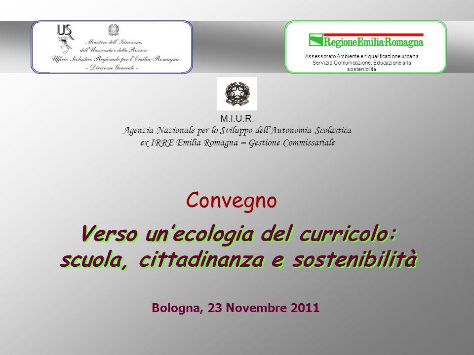 Verso un'ecologia del curricolo: scuola, cittadinanza e sostenibilità