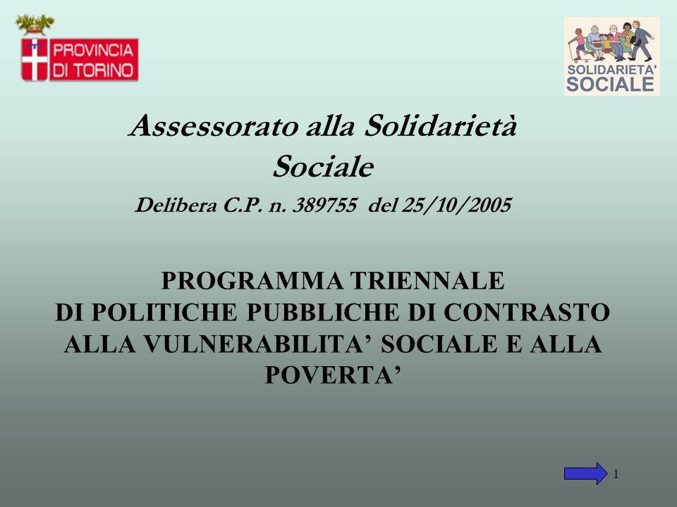 Assessorato alla Solidarietà Sociale