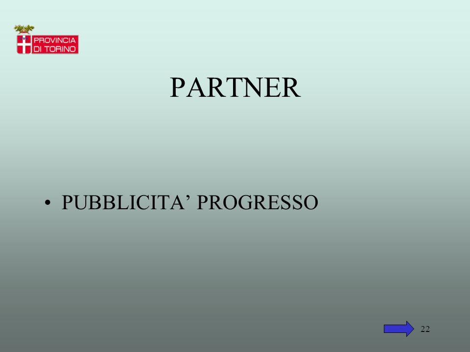 PARTNER PUBBLICITA' PROGRESSO