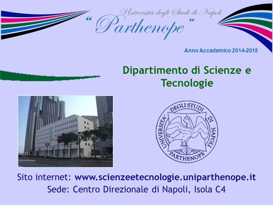 Dipartimento di Scienze e Tecnologie