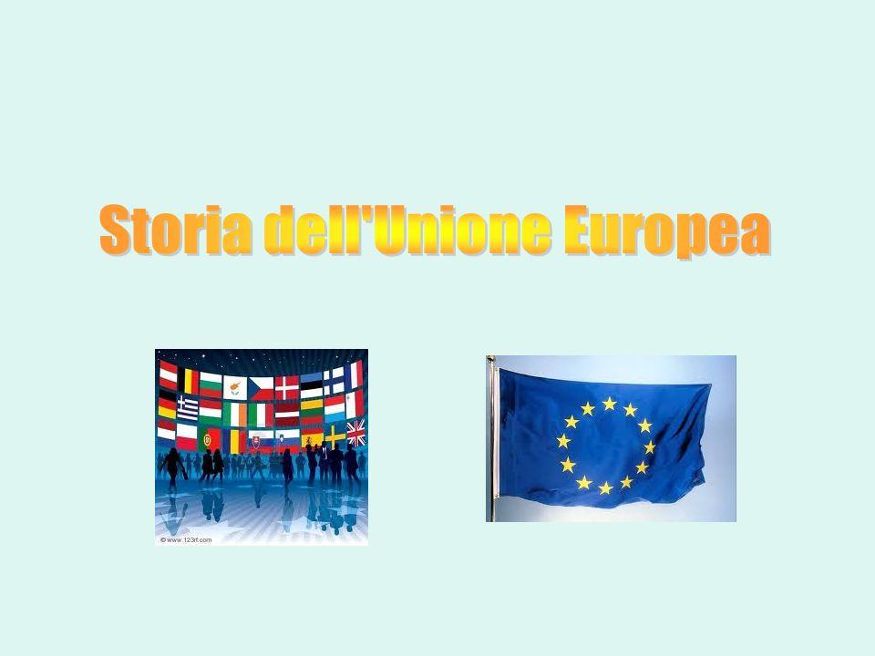 Storia dell Unione Europea