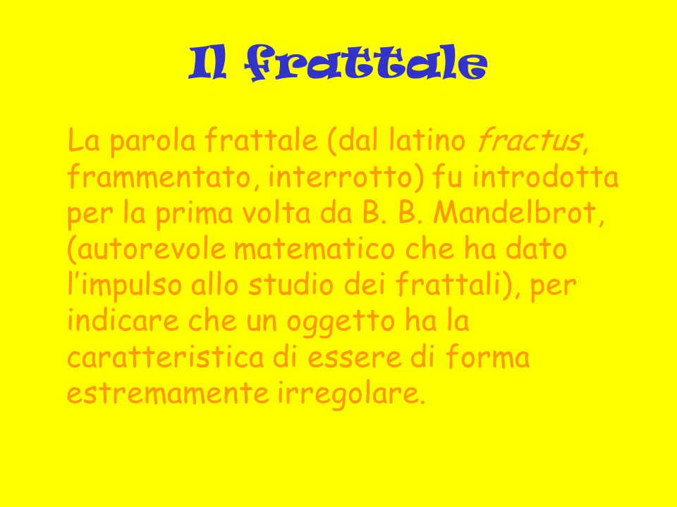 Il frattale