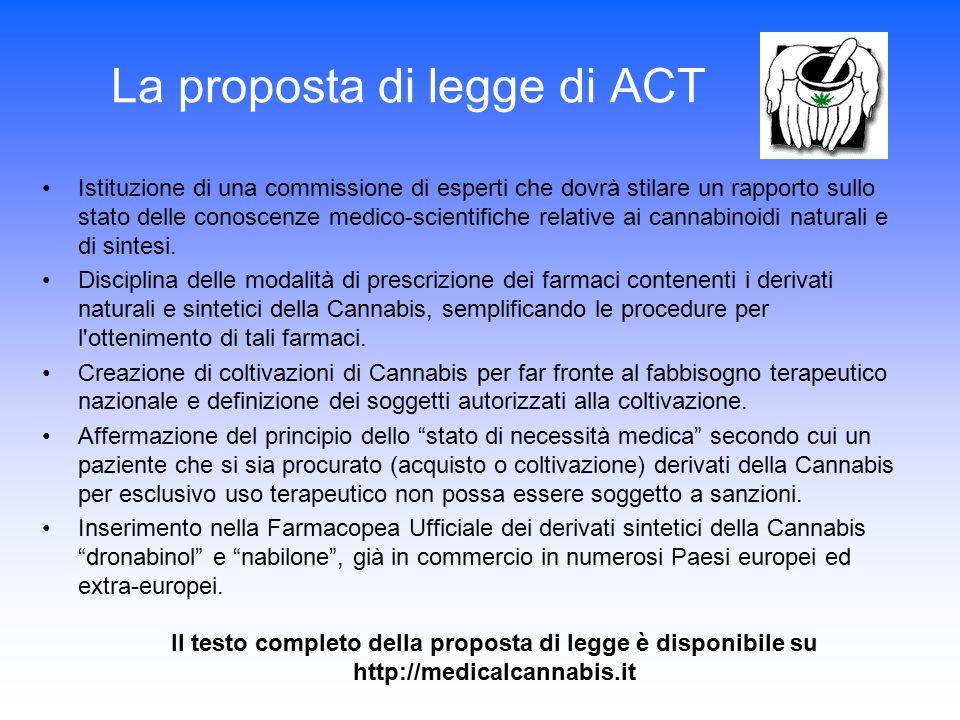 La proposta di legge di ACT