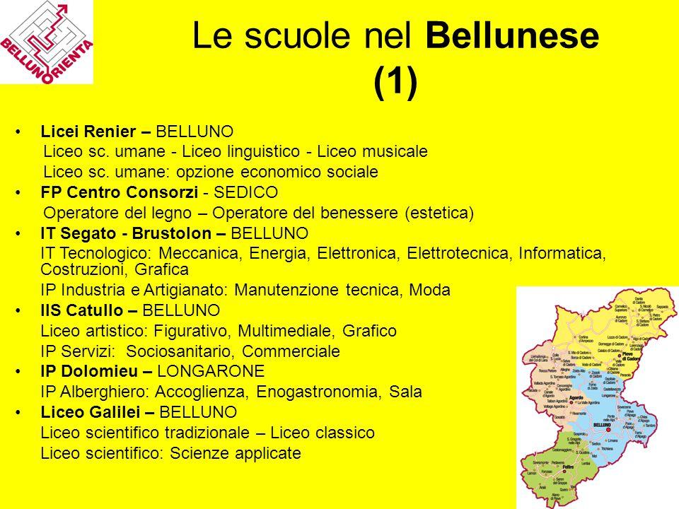 Le scuole nel Bellunese (1)