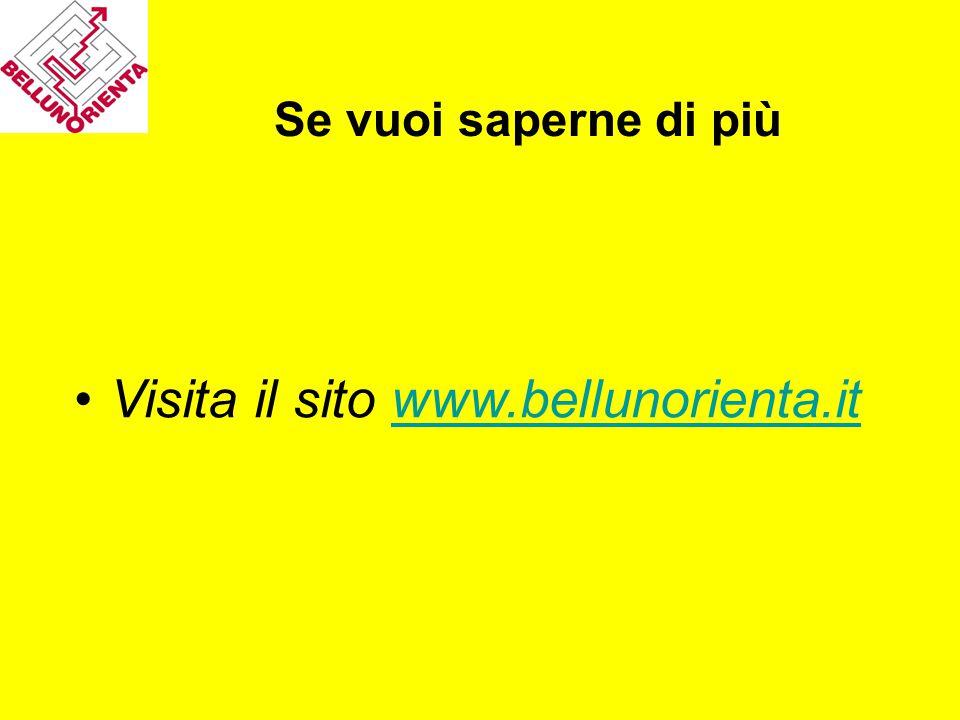 Visita il sito www.bellunorienta.it