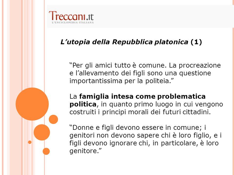 L'utopia della Repubblica platonica (1)