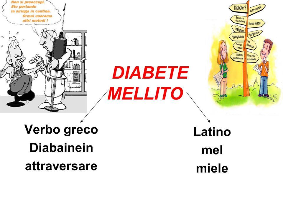 Verbo greco Diabainein attraversare